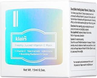 KLAIRS Freshly Juiced Multi-functional Sleeping Pack or Moisturize Vitamin E Mask, 15 Ml