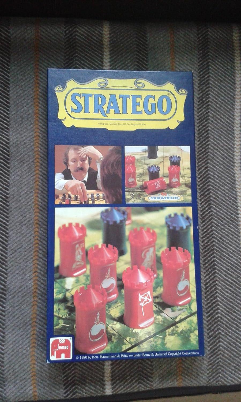 Stratego, Erstausgabe mit den runden Türmen
