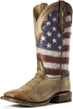 ARIAT Men's Ranchero Stars and Stripes Western Boot