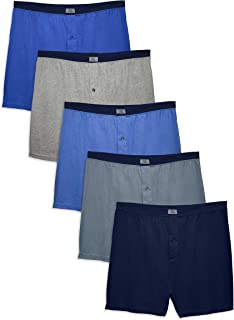 Men's Tag-Free Boxer Shorts (Knit & Woven)