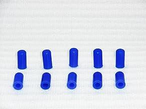 Cool Nuts シリコンキャップ 内径6mmx10個入り ブルー CP06-10-BU