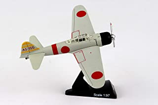 Daron Worldwide Trading Postage Stamp A6M2 Zero 1/97 Ijnas Carrier Akagi 1 Airplane Model