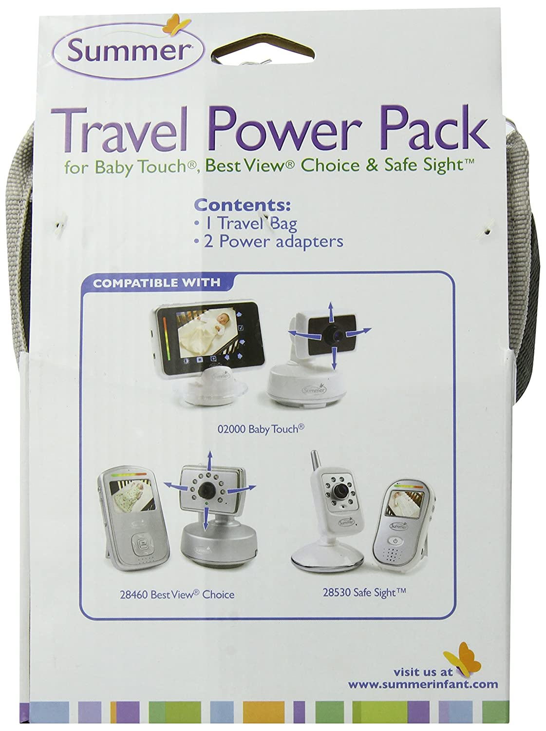 Summer Infant Travel Power Pack Monitors (Discontinued by Manufacturer)