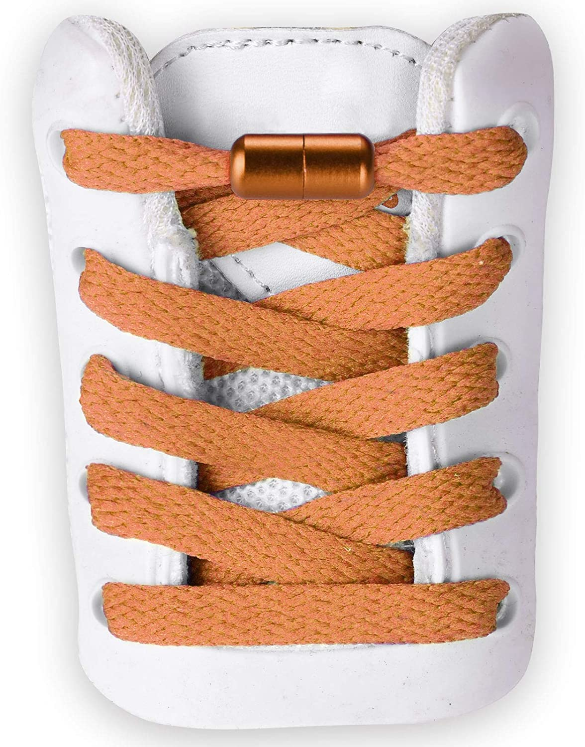 Max 84% OFF Flat Athletic No Tie Shoelaces Shoe Laces for Sneaker Charlotte Mall -