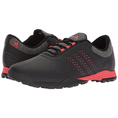 adidas Golf Adipure Sport (Core Black/Real Coral/Core Black) Women