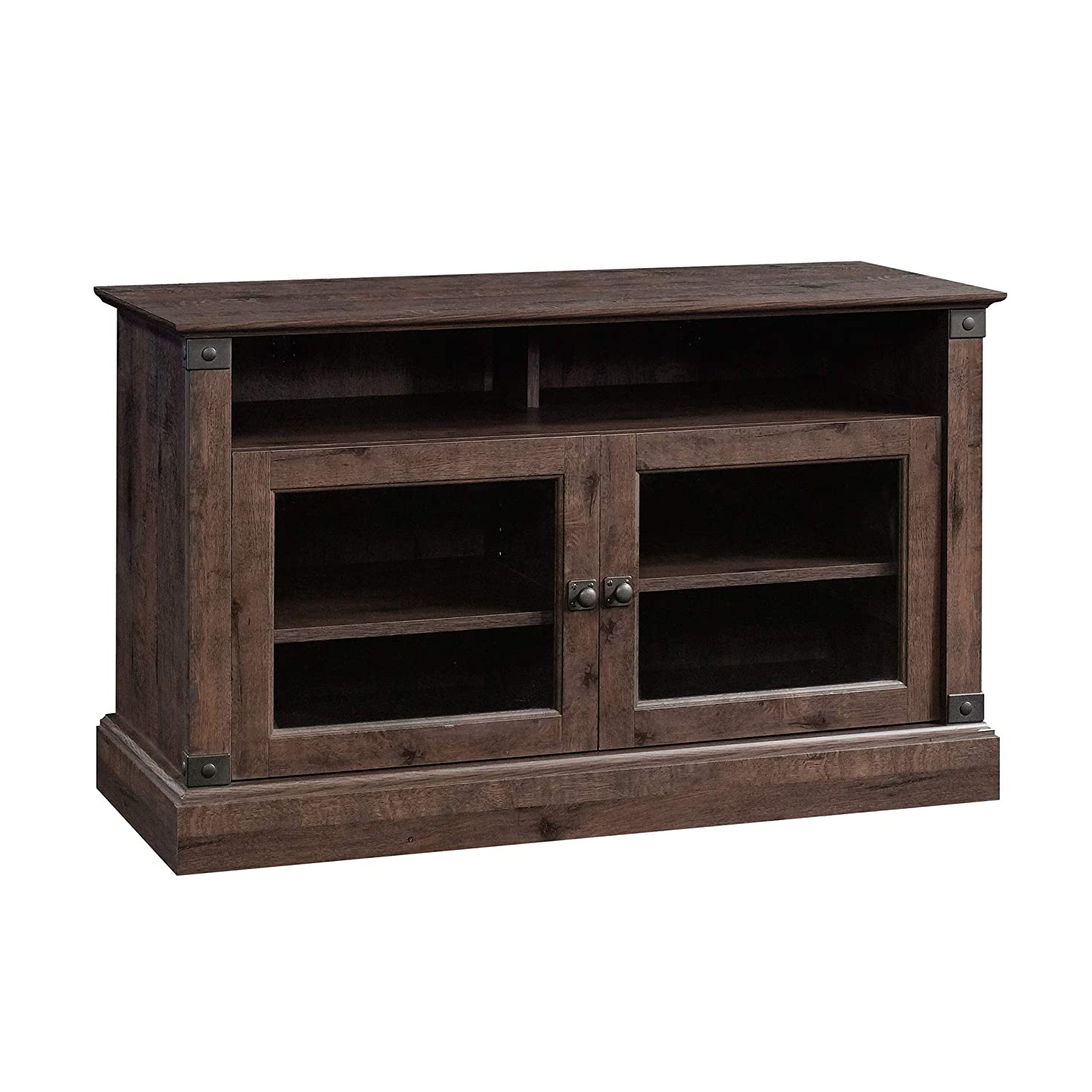 Sauder 422036 Carson Forge Panel TV Stand, For TV's up to 47