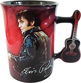 Elvis Presley Mug with Guitar Handle by Midsouth Products
