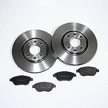 Autoparts-Online Set 60002401 Bremsscheiben//Bremsen Set Bremsbel/äge Vorne Hinten