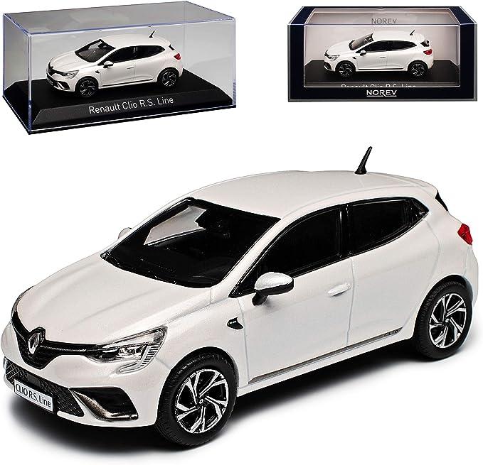 Renault Clio V R S Line Pearl Weiss Metallic 5 Türer 5 Generation Ab 2019 1 43 Norev Modell Auto Mit Individiuellem Wunschkennzeichen Spielzeug