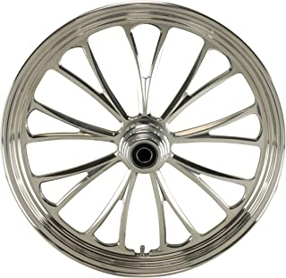 """Ultima¨ Manhattan Aluminum Front Wheel, 21""""x 2.15"""", Single Disc, 2000 & Later Sealed Ball Bearings and 1"""" Axle, 37-620"""