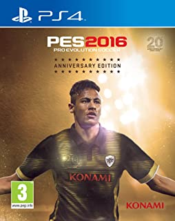 PS4 PES 2016 ANNIVERSARY EDITION