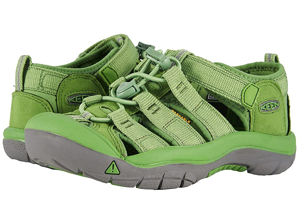 Keen Kids Newport H2 (Little Kid/Big Kid) (Fluorite Green) Kids Shoes