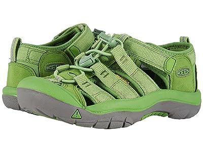 Keen Kids Newport H2 (Little Kid/Big Kid) (Fluorite Green) Kids Shoes