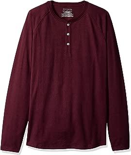 Amazon Essentials Men's Regular-Fit Long-Sleeve Henley Shirt