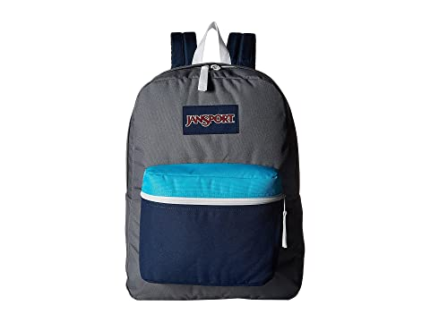 JanSport Exposed Shady Grey/White Sale Pay With Paypal 8S9RPo