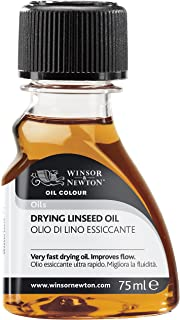 Winsor & Newton Drying Linseed Oil, 75ml, Clear