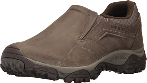 Merrell Men& 039;s Moab Adventure Moc Hiking schuhe, Boulder, 9.5 M US