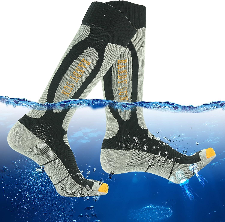 RANDY SUN 100% Waterproof Breathable Knee High Kayaking Hunting Fishing Socks