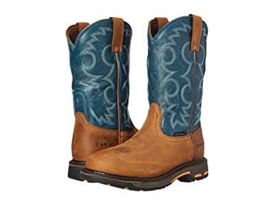 Ariat Workhog Pull-On WP (Aged Bark/Topaz) Women