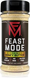 NEW! Cinnamon Honey Butter - Feast Mode Flavors - Low Sodium , No MSG , Gluten Free , All Natural , Meal Prep Seasoning , ...