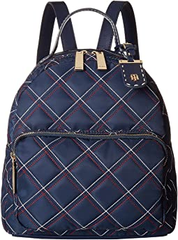 Julia Dome Triple Quilt Nylon Backpack