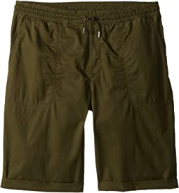 Relaxed Fit Cotton Shorts (Big Kids)