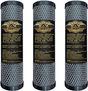 Cartouche de Filtre à Eau de Remplacement Universelle Compatible avec Bloc de Charbon de 10 Pouces pour SystèMe Big Blue W...