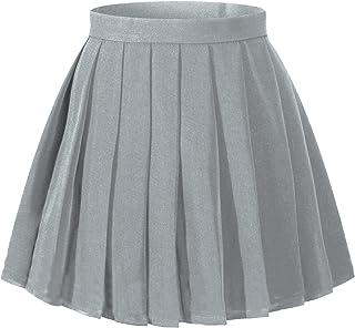 f8f6e38441eb33 Beautifulfashionlife Women's Japan high Waisted Pleated Cosplay Costumes  Skirts