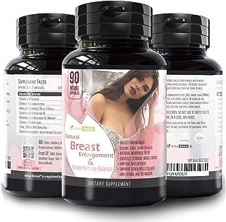 Pueraria Mirifica Capsules Breast Growth Pills - Natural Breast Enhancement Pills for Women , 90 Veg Breast Enlargement Pi...