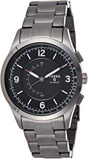 Fossil Hybrid Smartwatch Activist Smoke Stainless Steel - FTW1207
