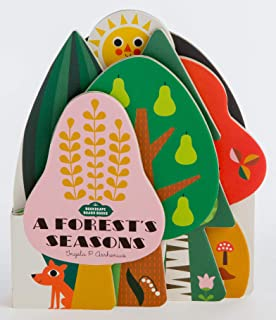 Bookscape Board Books: A Forest's Seasons: (Colorful Children s Shaped Board Book, Forest Landscape Toddler Book)