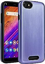 BLU Studio Mega 2019 Case,NEW FRONTIER 100% Slim-Fit [Merge] Strong Protective Shock Proof Dual Layer Precise Cutouts Bumper Style Phone Case for BLU Studio Mega 2019