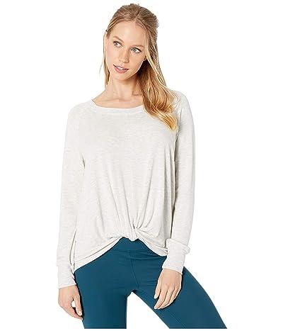 SUNDoWN by River+Sky Twist Sweatshirt (Grey Pearl) Women