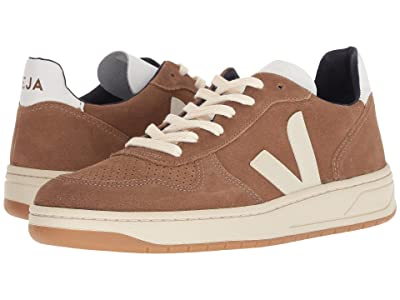 VEJA V-10 (Brown Pierre Suede) Men