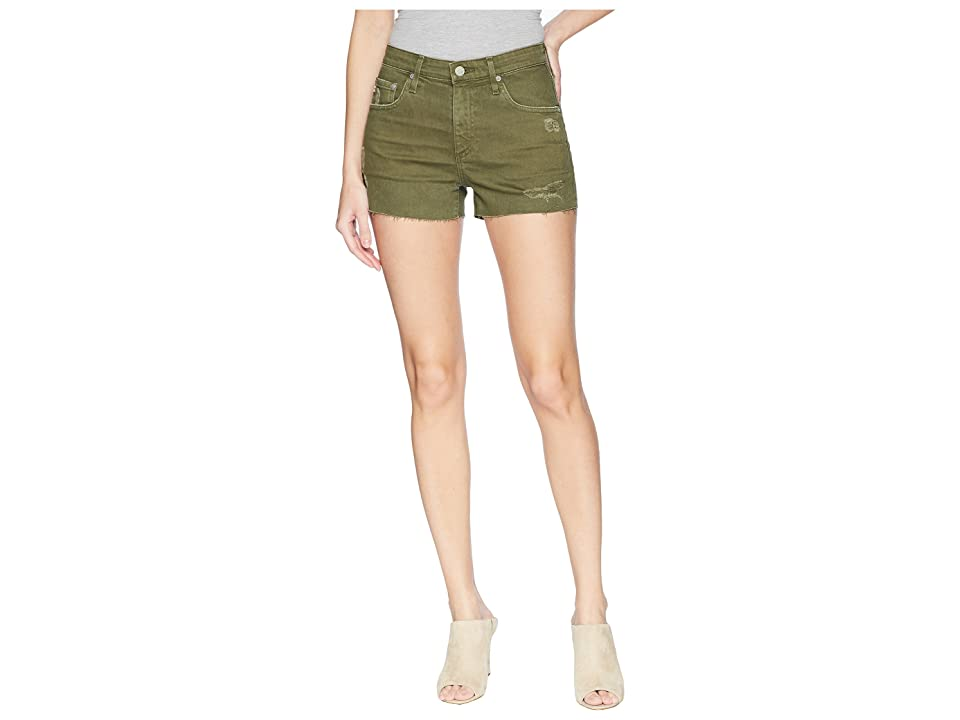Image of AG Adriano Goldschmied Bryn in 10 Years Remedy Desert Pine (10 Years Remedy Desert Pine) Women's Shorts