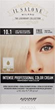 Il Salone Milano Professional Permanent Hair Color Kit - 10.1 Very Light Iced Blonde - 100% Gray Coverage Hair Dye - Paraffin Free - Ethyl Alcohol Free - Moisturizing Oils