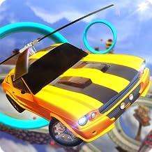 Helicopter Flying Car Stunts Parking Simulator 3D: Flight Pilot Heli Landing Adventure Stunt Game Free For Kids 2018