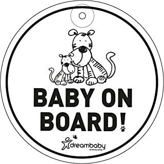 Dreambaby Baby On Board Sign - Tigers