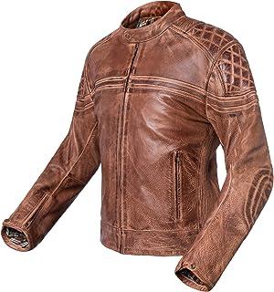 557dd263 Chaqueta de moto de piel vintage Invictus Eros (XL)