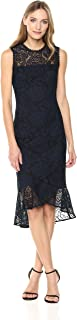 Shoshanna Women's Reika Sleevless High-Low Dress