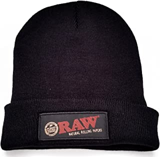 Rolling Papers Beanie Hat, Black, One Size
