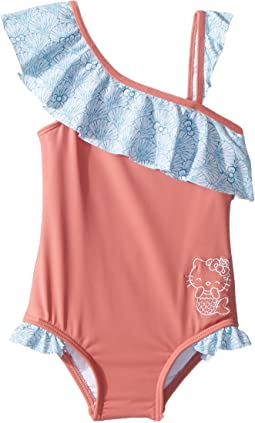 Hello Kitty® Shelly One-Piece Swimsuit (Toddler/Little Kids)