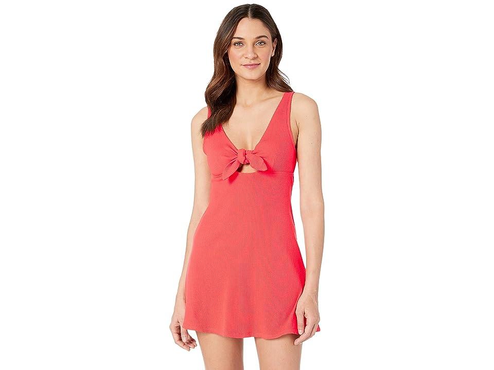 Billabong Hola Holiday Dress (Sunset Red) Women