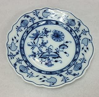 Meissen Carl Teichert Blue Onion Bread/Dessert Plate, 7.5 Inch Diameter