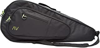 Gigavibe Premium Tennis Bag in Black, 3 Racquet Holder