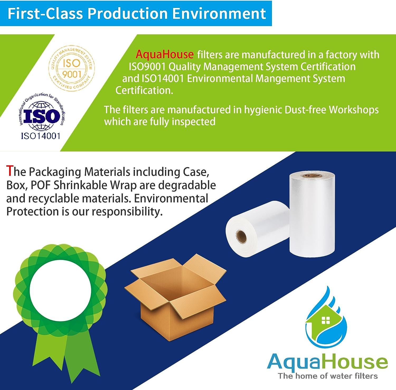 12x AquaHouse AH-CKR Compatible pour Krups Claris F088 Filtre /à eau Cartouche pour AEG Bosch Siemens Krups Cafeti/ère