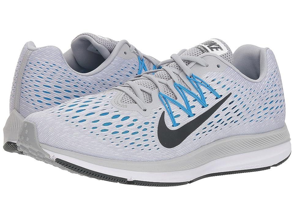 Nike Air Zoom Winflo 5 (Wolf Grey/Anthracite/Pure Platinum) Men