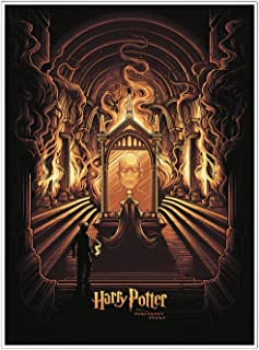 Quantum Mechanix Harry Potter and the Sorcerer's Stone Mirror of Erised 18 x 24 Art Print Poster