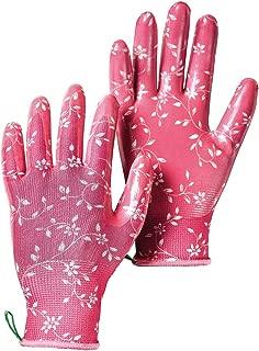 Hestra Women's Garden Dip Outdoor Work Gloves, X-Small, Fuchsia