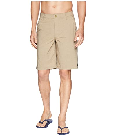 Rip Curl Mirage Phase Boardwalk Walkshorts (Khaki) Men